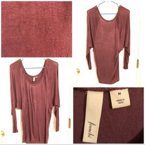 Frenchi winged sleeve blouse